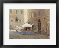 Framed Cafe Roma