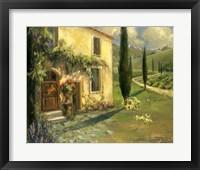 Framed Scenic Italy I
