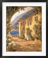 Framed Scenic Italy VIII