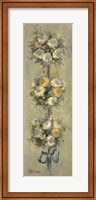 Framed 2-Up Topiary Bouquet I