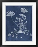 Botanical in Indigo II Framed Print