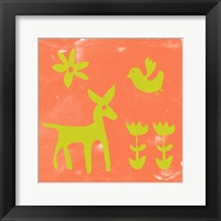 Framed Otomi Tile III