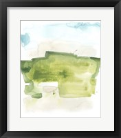Liquid Valley II Framed Print