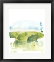 Liquid Valley V Framed Print