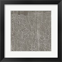 Weathered Wood Patterns I Framed Print