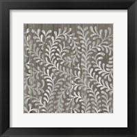 Weathered Wood Patterns III Framed Print