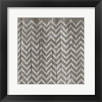Weathered Wood Patterns IV Framed Print