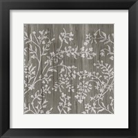 Framed Weathered Wood Patterns V