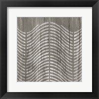 Framed Weathered Wood Patterns X