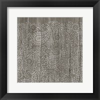 Framed Weathered Wood Patterns XI