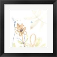 Botany Gesture VI Framed Print