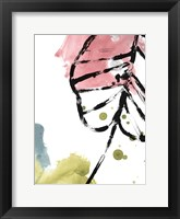 Tropical Moderne III Framed Print