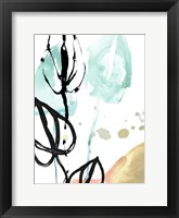 Tropical Moderne VI Framed Print