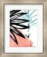 Framed Tropical Moderne VII