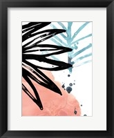 Tropical Moderne VII Framed Print
