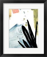 Tropical Moderne IX Framed Print