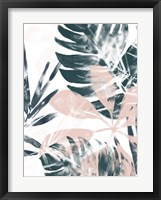 Framed Tropical Blush II