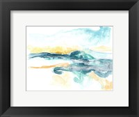 Framed Liquid Lakebed I