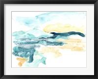Framed Liquid Lakebed II