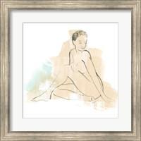 Framed Colorblock Figure II