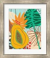 Framed Graphic Jungle II