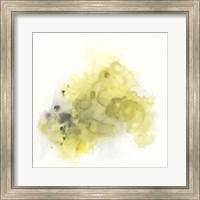 Framed Citron Cloud III