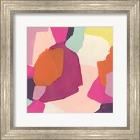 Framed Pink Slip I