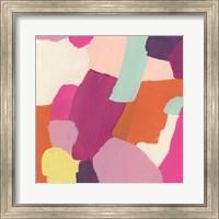 Framed Pink Slip III