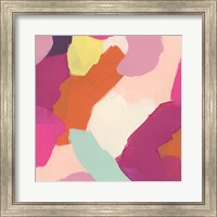 Framed Pink Slip IV