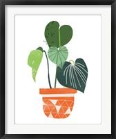 Framed Happy Plants II