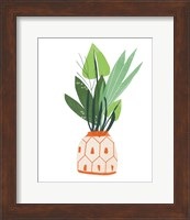 Framed Happy Plants III