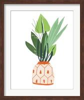 Framed Happy Plants III