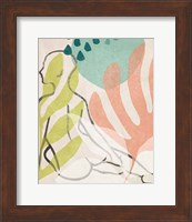 Framed Tropical Nude I