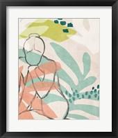 Framed Tropical Nude III