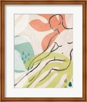 Framed Tropical Nude IV