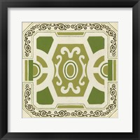 Garden Motif V Framed Print