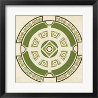 Garden Motif VI Framed Print