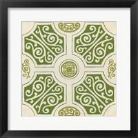 Garden Motif VII Framed Print