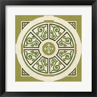 Garden Motif VIII Framed Print