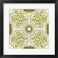 Garden Motif IX Framed Print