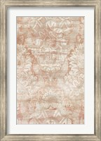 Framed Garnet Weft III