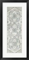 Framed Vintage Persian Panel III
