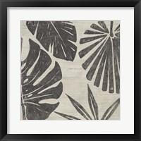 Framed Tribal Palms II
