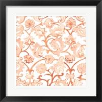 Framed Bohemian Textile III