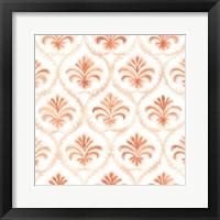 Framed Bohemian Textile VII