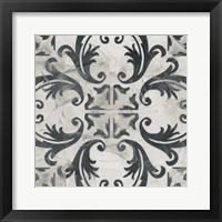Framed Neutral Tile Collection I