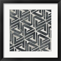 Neutral Tile Collection II Framed Print