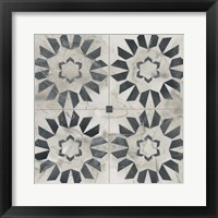 Neutral Tile Collection III Framed Print