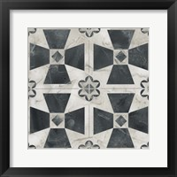 Neutral Tile Collection IV Framed Print