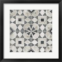 Framed Neutral Tile Collection V